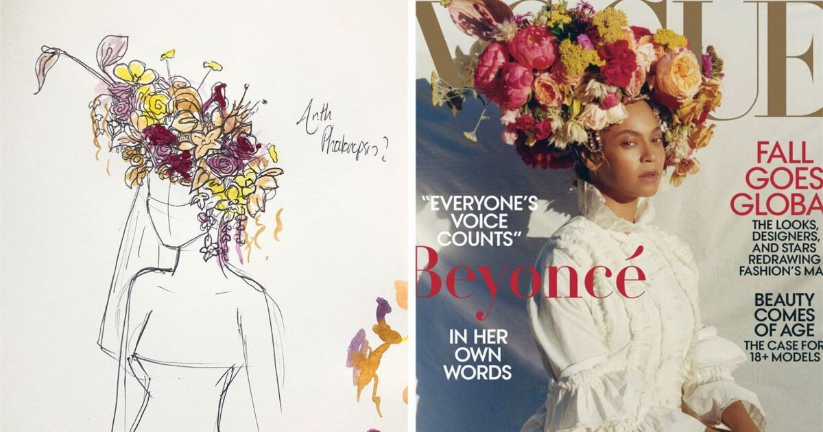 Phil John Perry On The Floral Industry And Designing Beyonce S Vogue Headdress Los Angeles Times