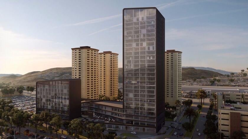 Tijuana's NewCity Development