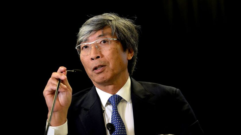 BOSTON, MA - OCTOBER 26: Dr. Patrick Soon-Shiong, Founder and CEO NantWorks, Leader of the Cancer Mo