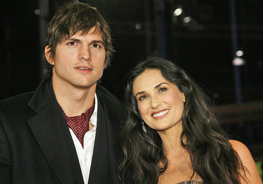 Demi Moore and Ashton Kutcher