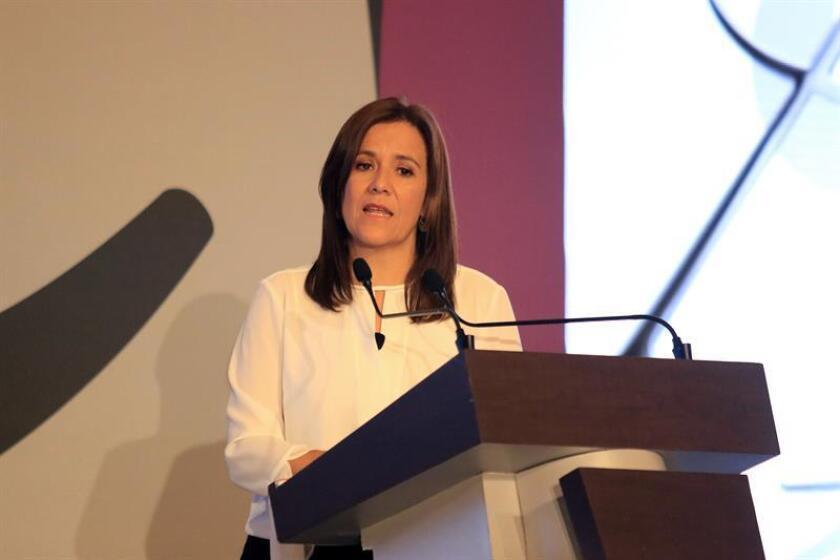 Margarita Zavala, ex primera dama de México. EFE/Archivo