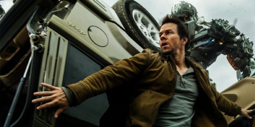 """The blockbuster """"Transformers: Age of Extinction,"""" starring Mark Wahlberg, was nominated for seven Golden Raspberry Awards for worst cinematic achievement in 2014"""