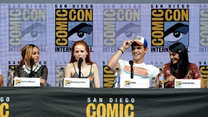 "Comic-Con International 2018 - ""Riverdale"" Special Video Presentation And Q&A"