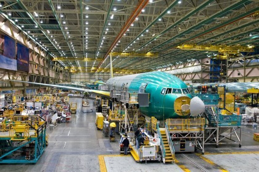 Letters to the Editor: Boeing's focus on stock price is a national security issue