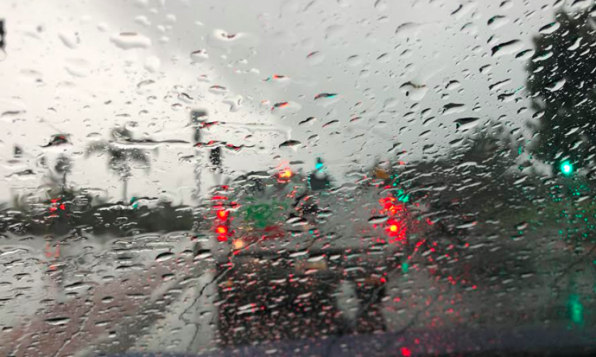 San Diego's mountains and deserts received substantial rain on Wednesday and early Thursday