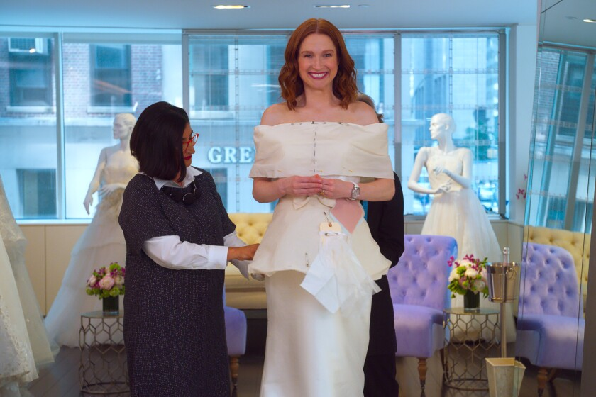 """Ellie Kemper returns as the """"Unbreakable Kimmy Schmidt"""" in an interactive special, """"Kimmy vs. the Reverend,"""" on Netflix."""