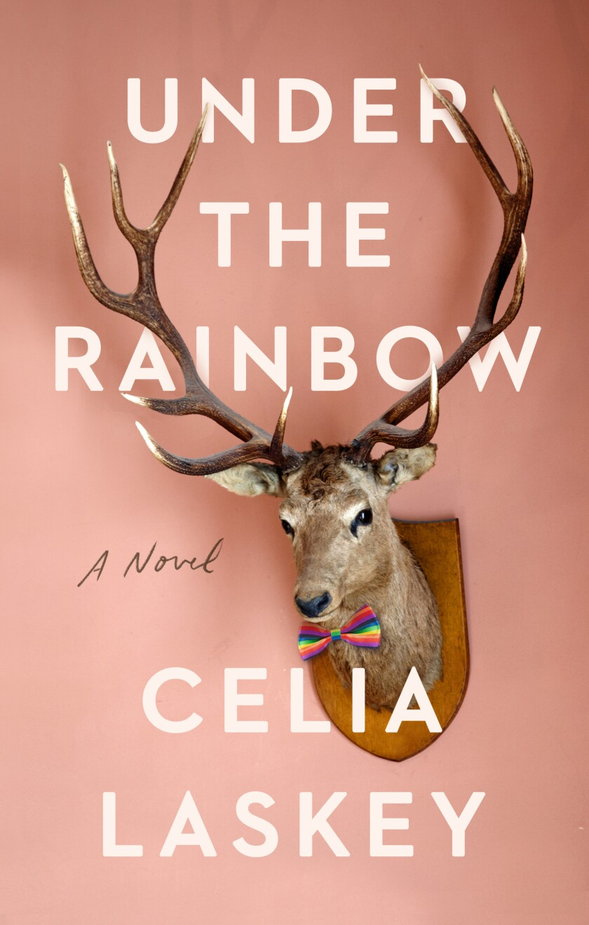 "A book cover for ""Under the Rainbow,"" by Celia Laskey"