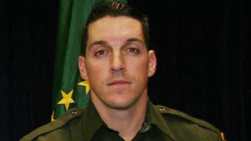 Border Patrol Agent Brian Terry was shot and killed in Arizona just north of the Mexican borderin 2010.