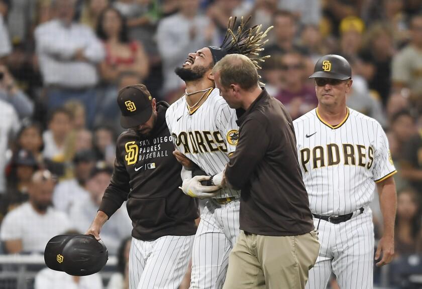 The Padres' Fernando Tatis Jr.