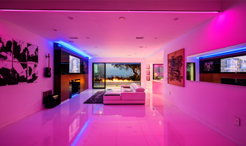 Jeff Blue's Hollywood Hills home