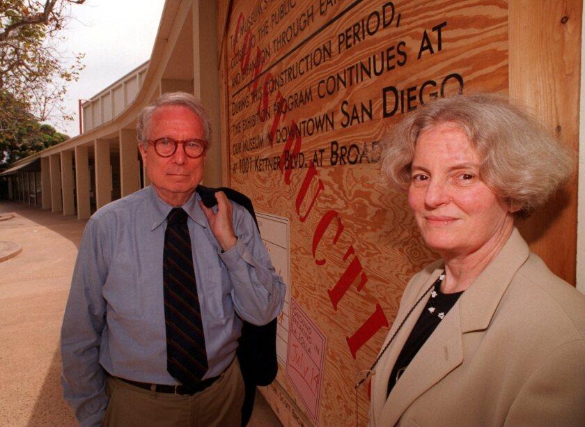 CA/VENTURI/#1/DG/7–14–94: A husband and wife team, architects Robert Venturi and Denise Scott Brown