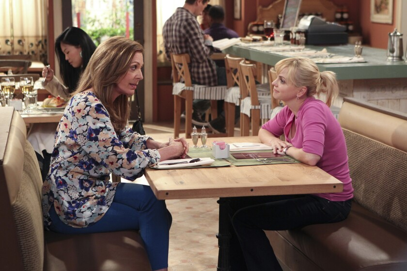 """""""Mom,"""" with Allison Janney, left, and Anna Faris, will have its Season 2 premiere on Oct. 30."""