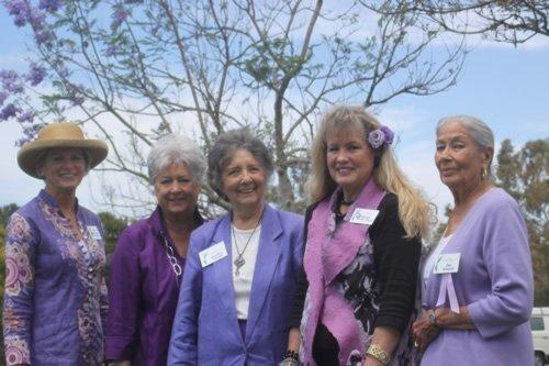 Village Garden Club Jacaranda dedication 6-12-14