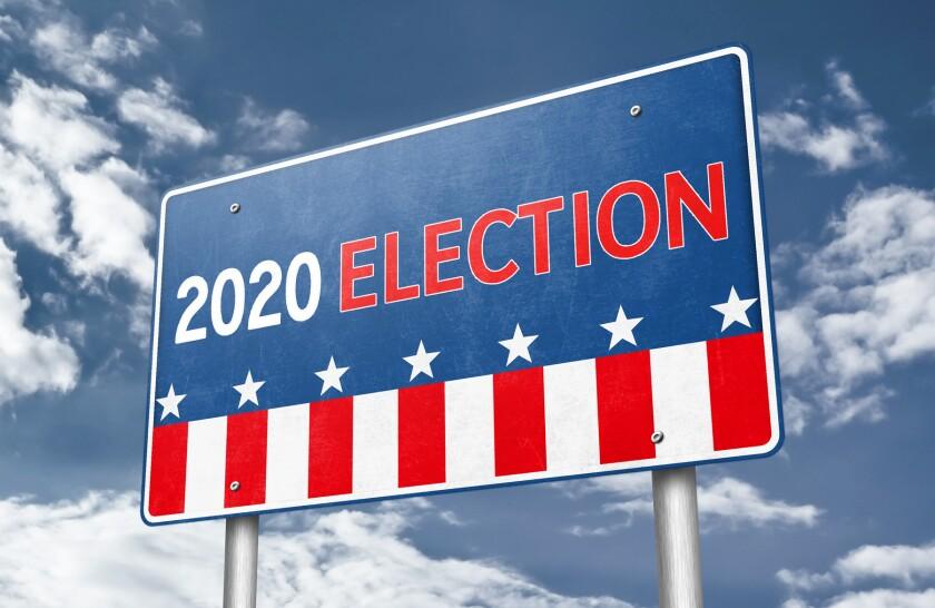 Election 2020 clip art