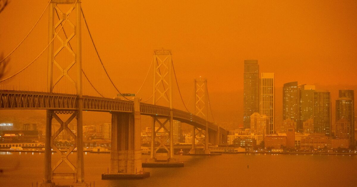 Rarely have so many Californians been exposed to such gloomy, unhealthy air