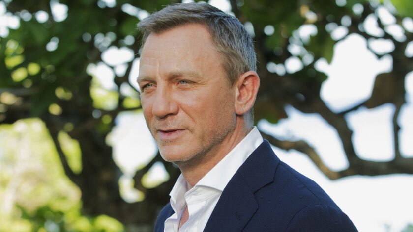"""Daniel Craig returns as Agent 007 in """"No Time to Die,"""" which won't come out now until November."""