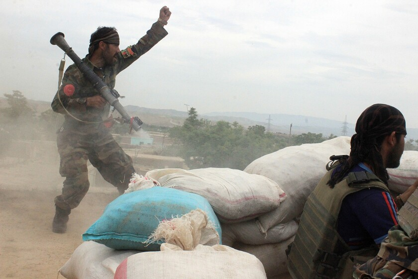 Fighting in Afghanistan