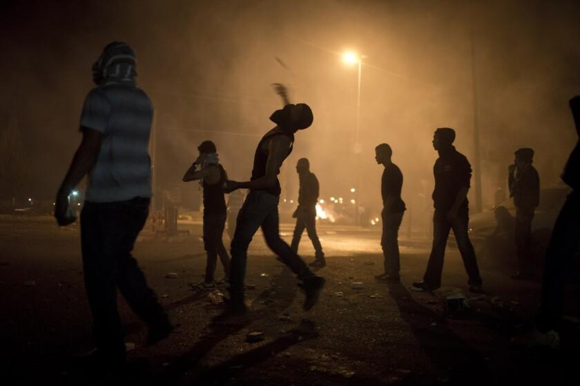 Israeli Bedouin demonstration