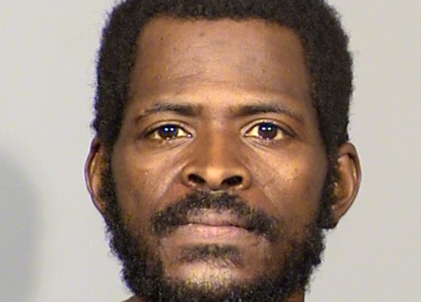 Clinton Taylor, arrested on suspicion of killing a woman with a sledgehammer
