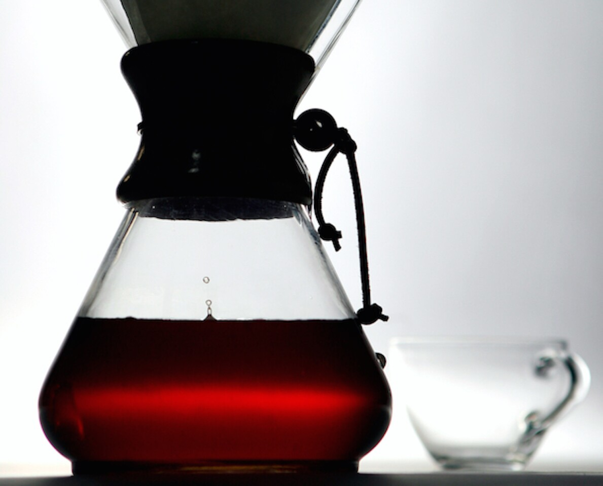 A Chemex is one of the simplest ways to brew a great cup of coffee.