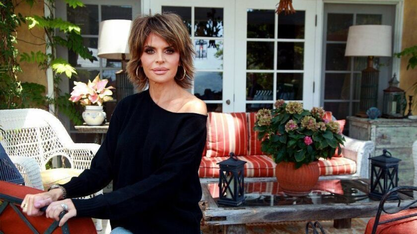 "Actress and ""Real Housewives of Beverly Hills"" star Lisa Rinna at her home."