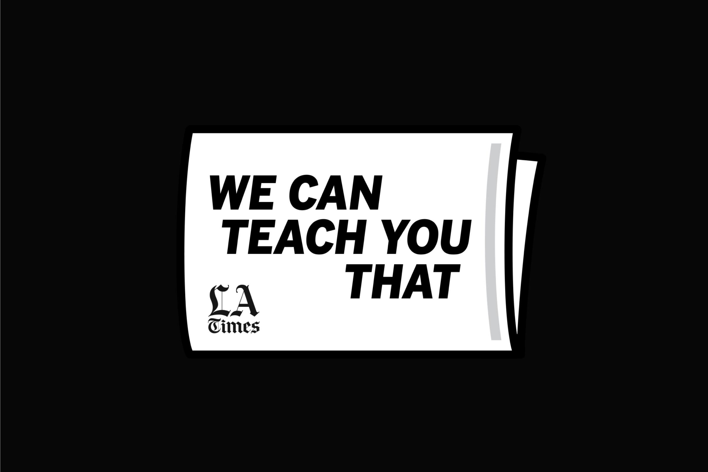 We Can Teach You That Logo