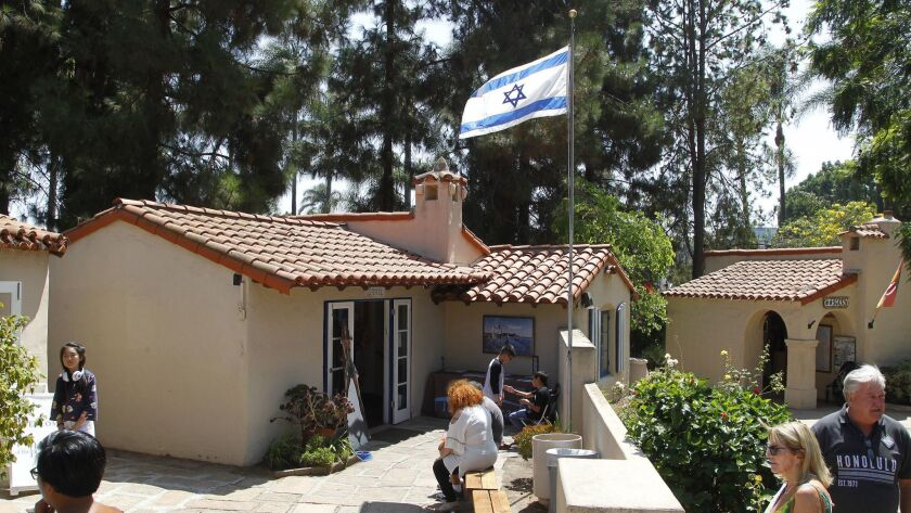 SAN DIEGO, CA Aug. 25th, 2018 | This is the House of Israel on Saturday at Balboa Park in San Diego,