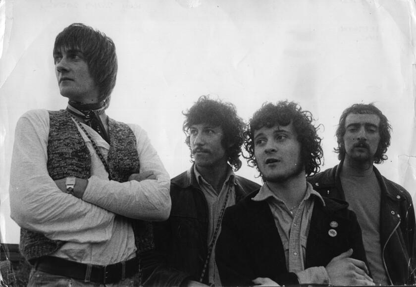 Fleetwood Mac: Mick Fleetwood, Peter Green, Jeremy Spencer and John McVie.