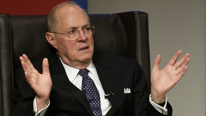 Supreme Court Justice Anthony Kennedy on Oct. 3, 2013.