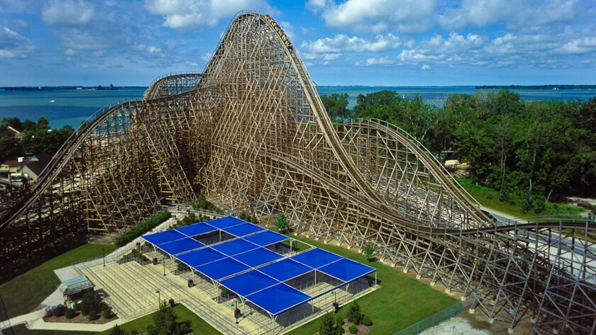 What New Twists May Be In Store For Looping Wooden Roller Coasters