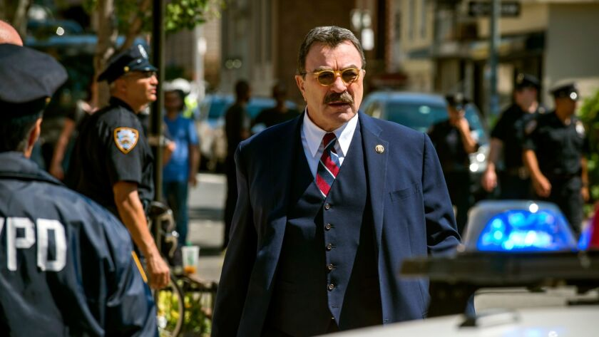 Tom Selleck at the funeral of former First Lady Nancy Reagan at the Ronald Reagan Presidential Library in Simi Valley. (Irfan Khan / Los Angeles Times).