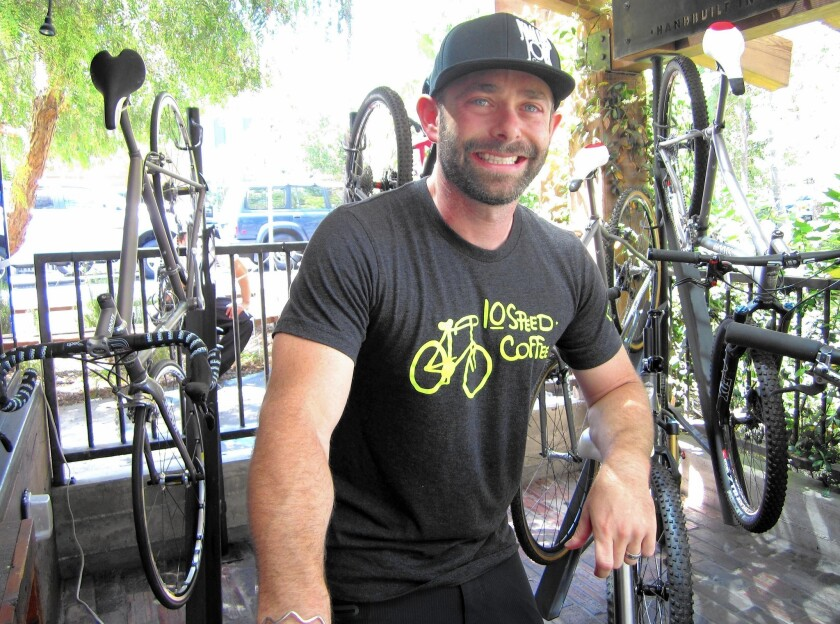 Robbie Schaeffer, whose father founded the OPI nail polish empire, became a bicycling enthusiast who now runs a cyclist-themed restaurant and leads bike tours.