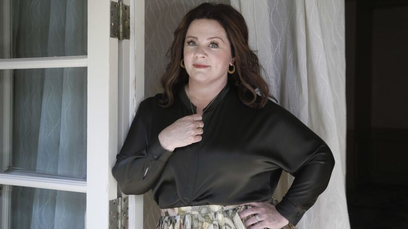 LOS ANGELES, CA-OCTOBER 8, 2018: Melissa McCarthy is photographed at the Four Seasons in Beverly Hil
