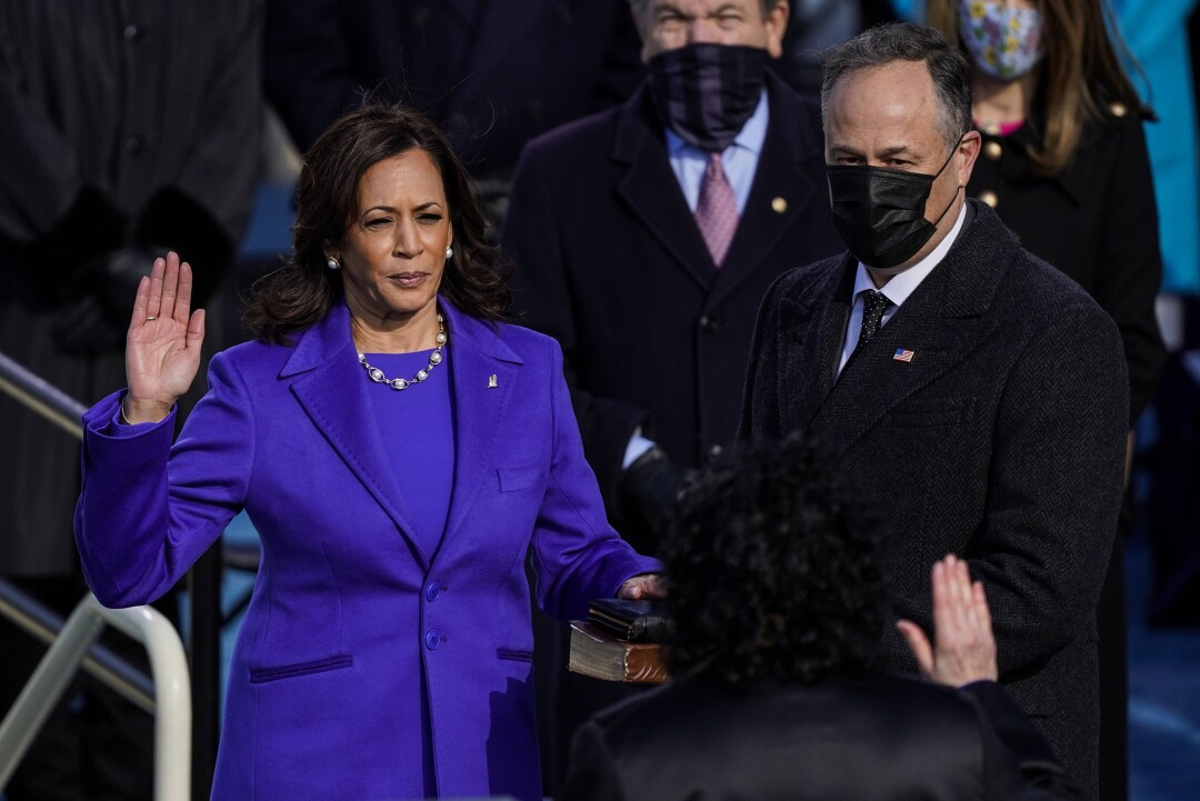 Vice President Kamala Harris is sworn in