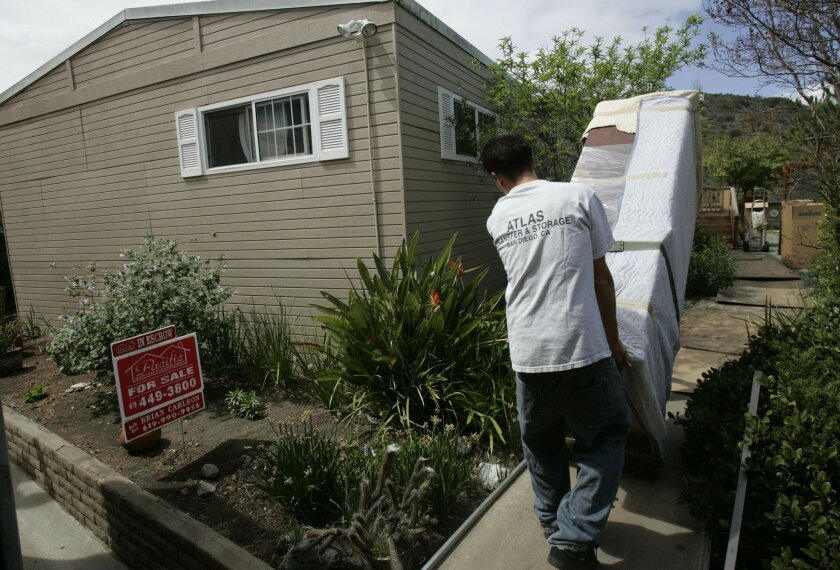 A trend since 1995, more families left San Diego County than arrived from other states in 2013, a sign that high costs and lack of jobs are discouraging residents.