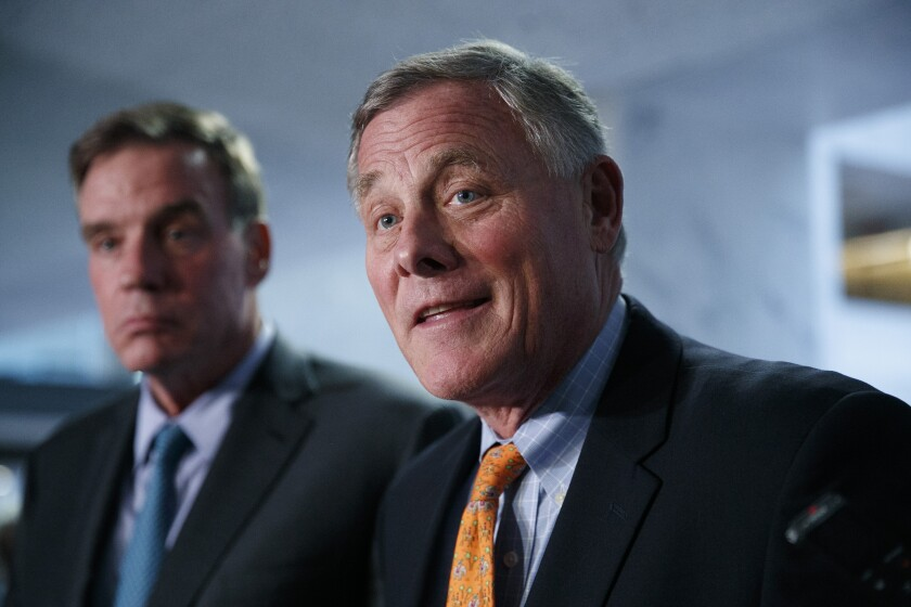 Richard M. Burr and Mark R. Warner