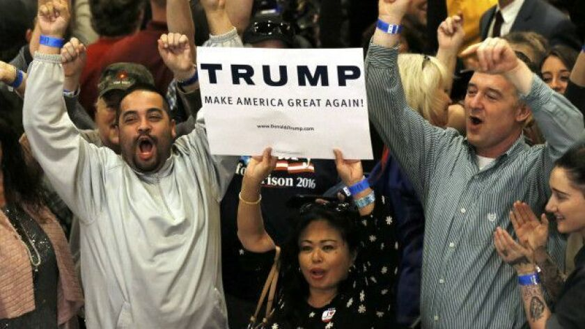 En las primarias republicanas en Nevada, Trump casi dobló a Rubio en las preferencias de los latinos, con 45% contra 28% del cubano estadounidense.