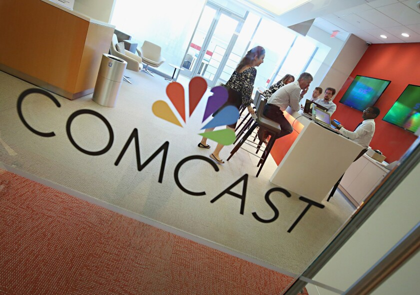 Comcast set up a $500-million relief fund for workers dealing with hardship due to the coronavirus.