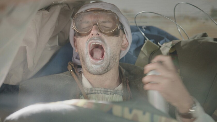 "Paul Scheer plays a post-apocalyptic fare in an episode of the new Go90 comedy ""Drive Share."""