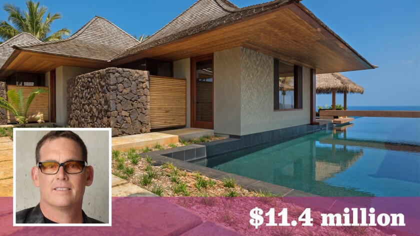 """Hollywood producer Mike Fleiss of """"The Bachelor"""" and """"The Bachelorette"""" fame has sold his custom estate in Hawaii for $11.4 million."""