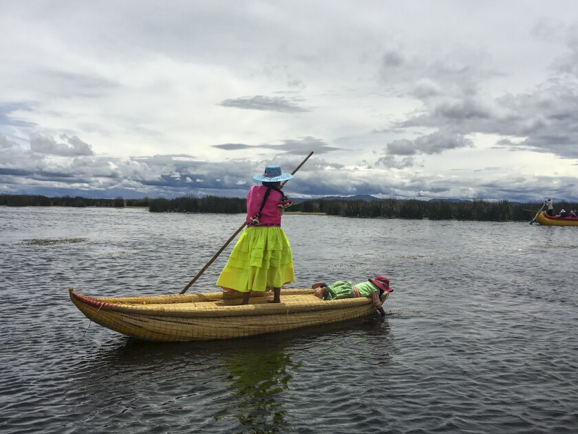 On Lake Titicaca in Peru, villagers want to draw tourists—but on their own terms
