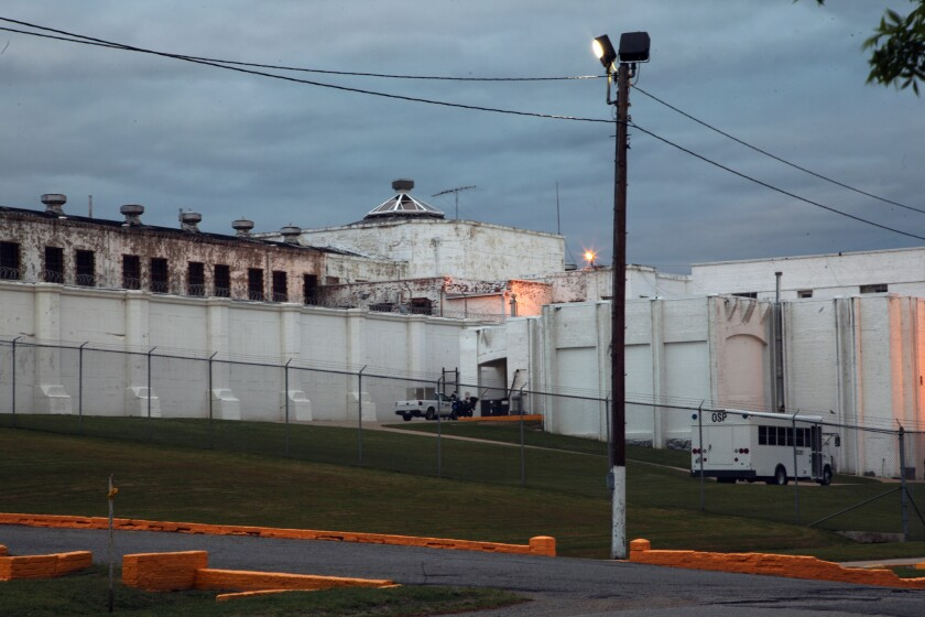 The Oklahoma State Penitentiary in McAlester, Okla., where the execution of Clayton Lockett was botched.