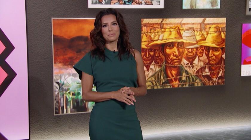 La actriz, productora, directora y activista Eva Longoria en una imagen promocional.