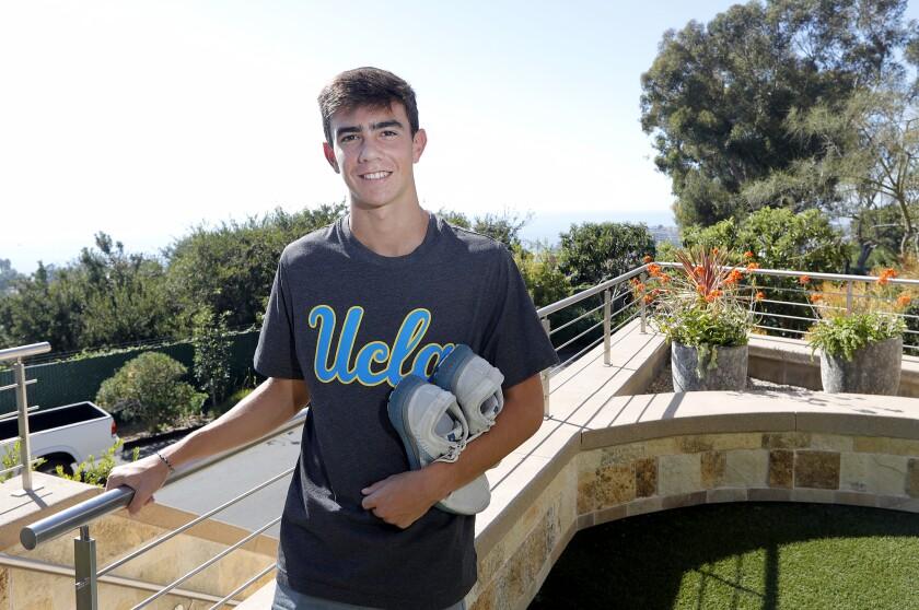 Laguna Beach senior boys' cross-country runner Mateo Bianchi has committed to UCLA.