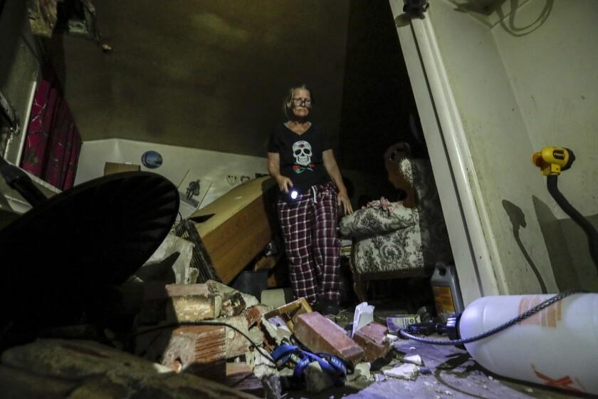 Ridgecrest earthquake aftershocks move toward dangerous