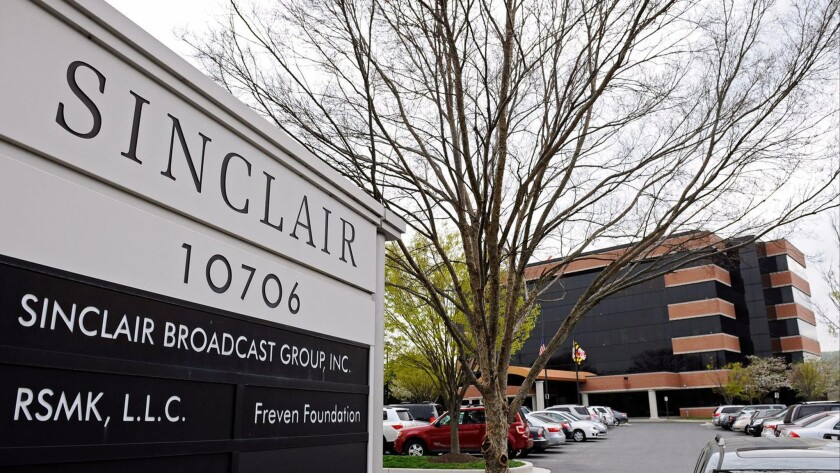 Sinclair Broadcast Group's headquarters in Hunt Valley, Md.