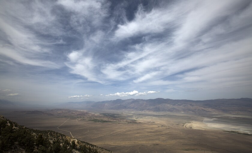 Major earthquake overdue in California's Eastern Sierra, study finds