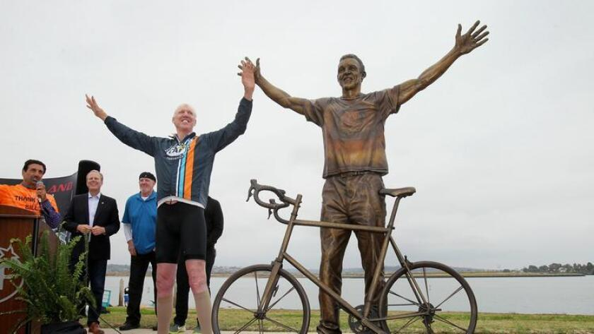 Bill Walton statue