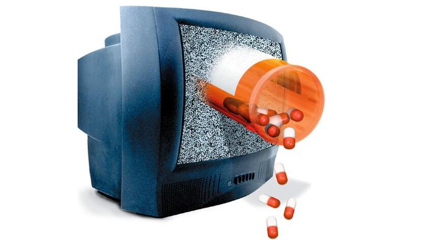 ILLUSTRATION: TV Drug Ads