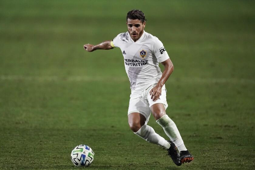 Galaxy's Jonathan dos Santos